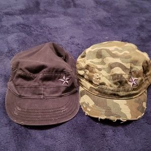 Accessories - Women's distressed hats